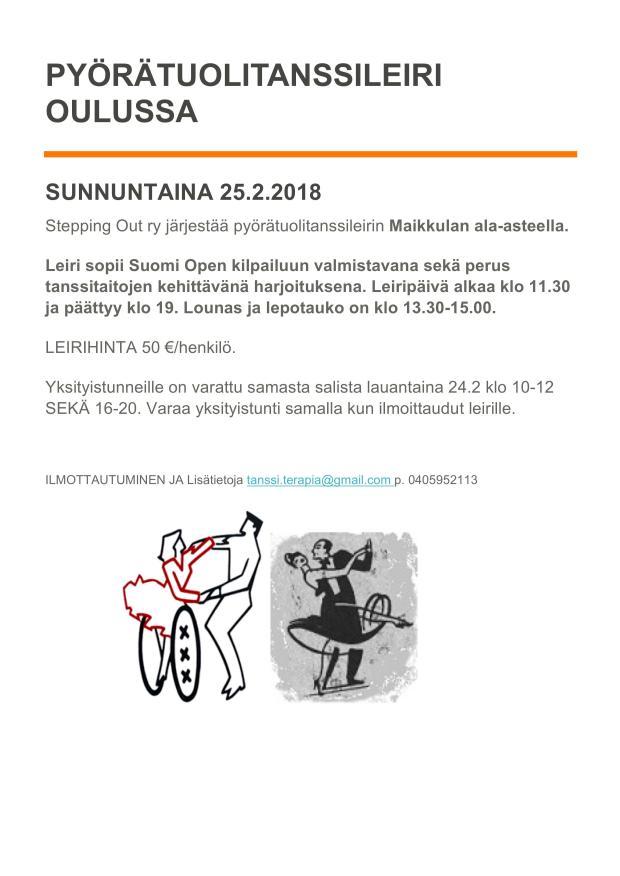 Leiri Linnanmaa Oulu 2018